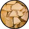 Material para composto - cacos de barro